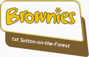 1st Sutton-on-the-Forest Brownies logo