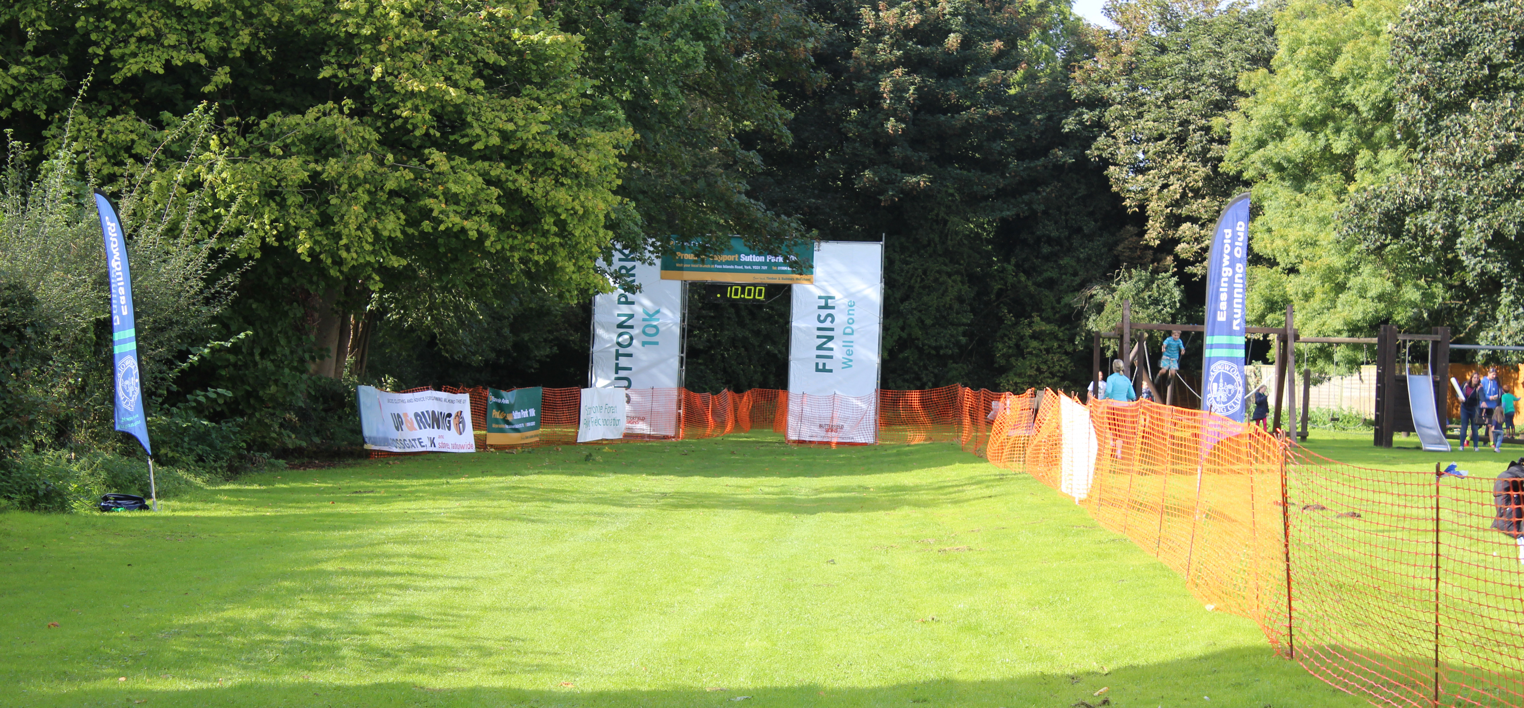 Sutton 10k finish